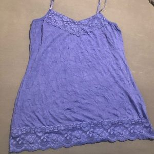Maurice's purple cami